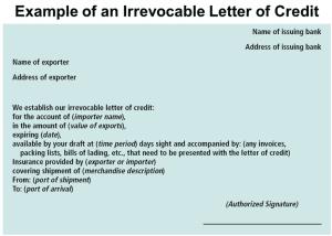pengertian letter of credit ekspor
