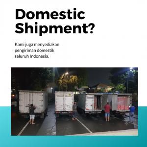 Pengiriman cargo domestik